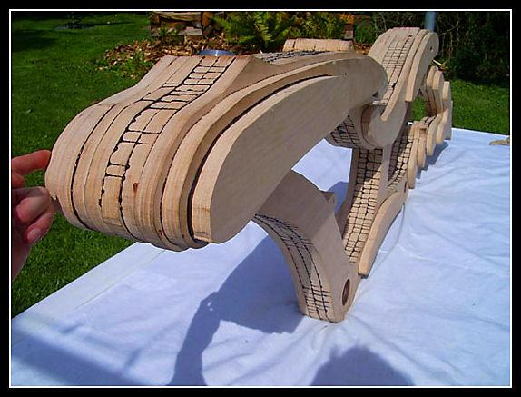 Wood bike Wood610