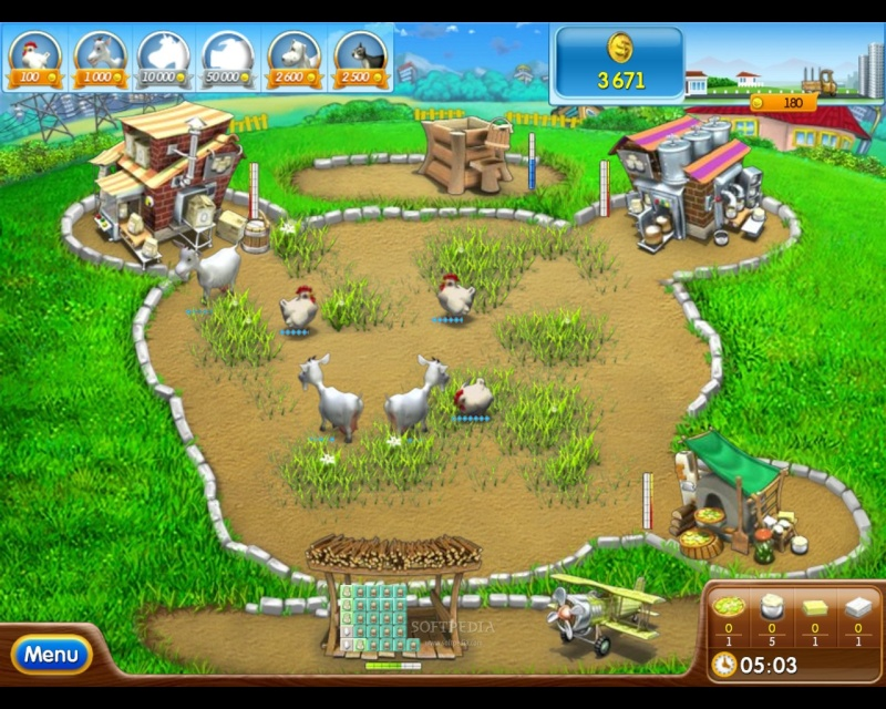 لعبة المزرعة السعيدة مجانا بدون نت
