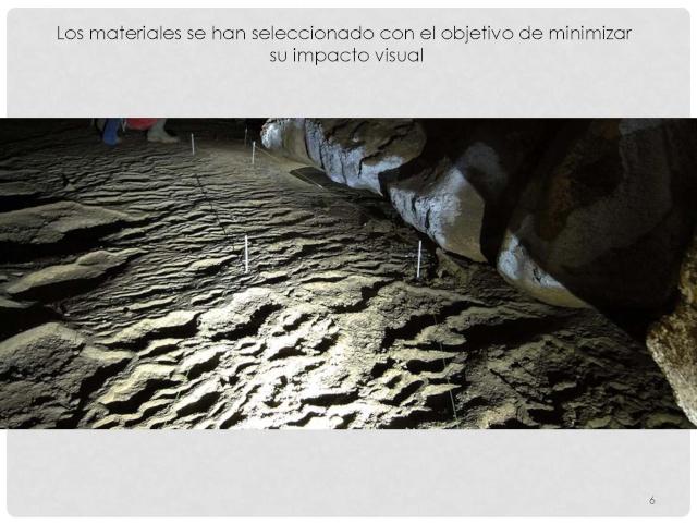 Balización de cavidades en Cantabria Baliza18