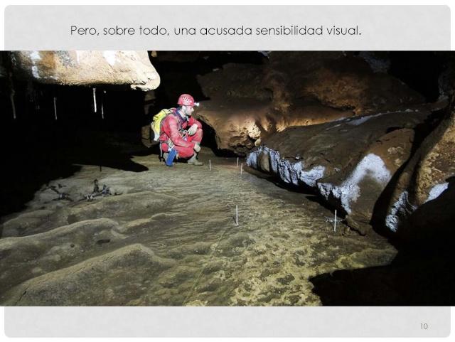 Balización de cavidades en Cantabria Baliza22