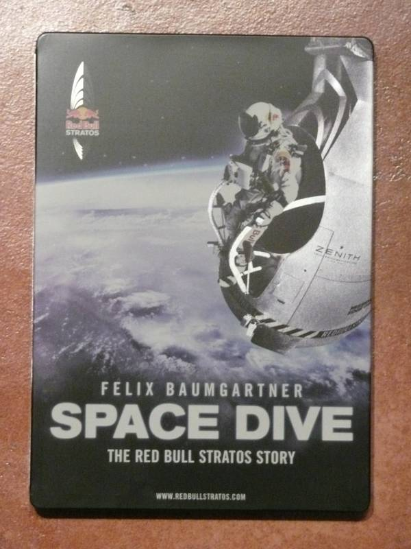 [DVD] SPACE DIVE (Felix Baumgartner) Yfhs210