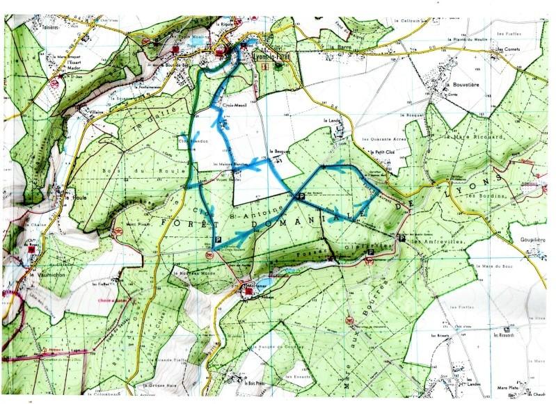 randonnée à Lyons la forêt 2013 Parcou10