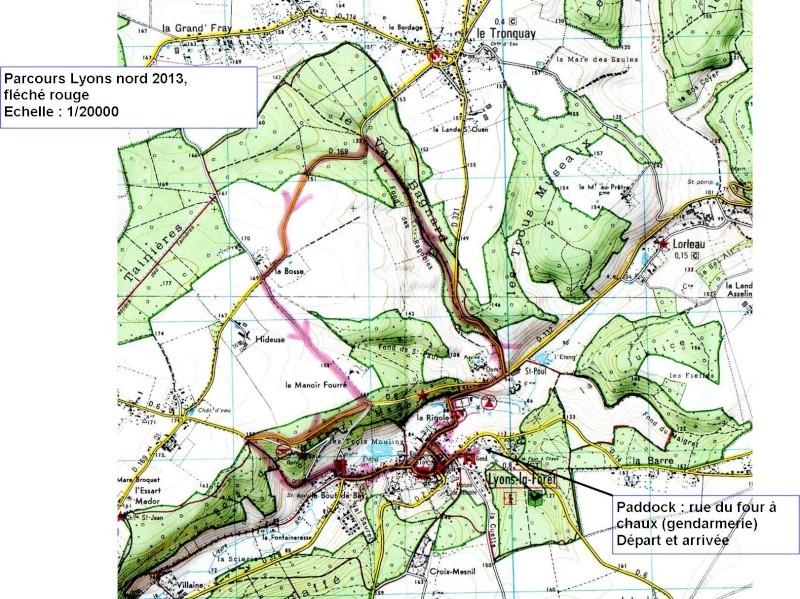 randonnée à Lyons la forêt 2013 - Page 2 Parcou12