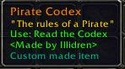 The Pirate codex! Codexq10