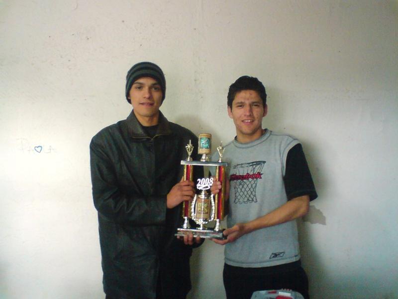 Daniel Barrales ganador del primer torneo navideño Dsc00110