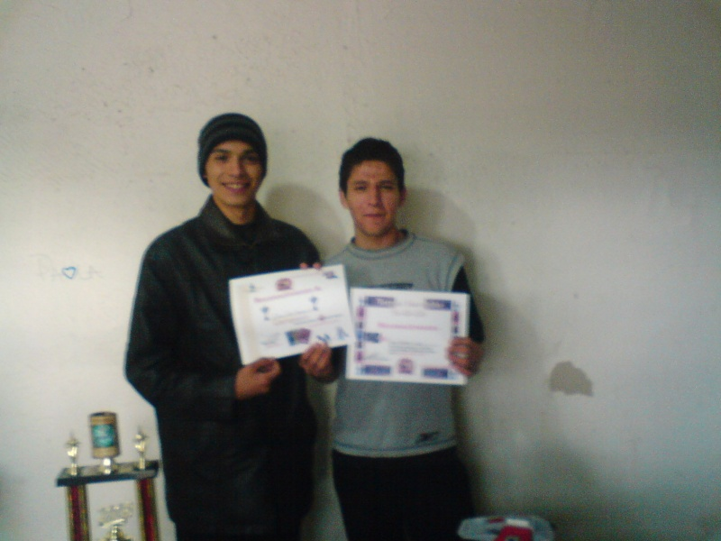 Daniel Barrales ganador del primer torneo navideño Dsc00111
