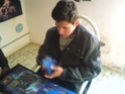 Daniel Barrales ganador del primer torneo navideño Dsc00013