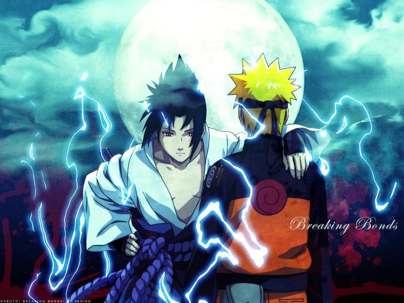 Anime and Manga links Sasuke11