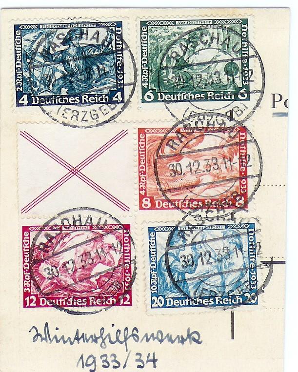 Winterhilfswerk Wertbestimmung Briefm13