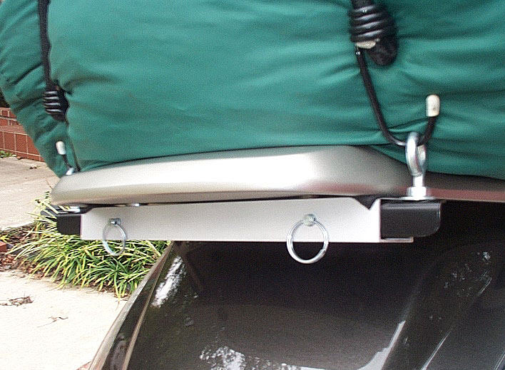 Cargo fastening system for the SilverWing Pc110
