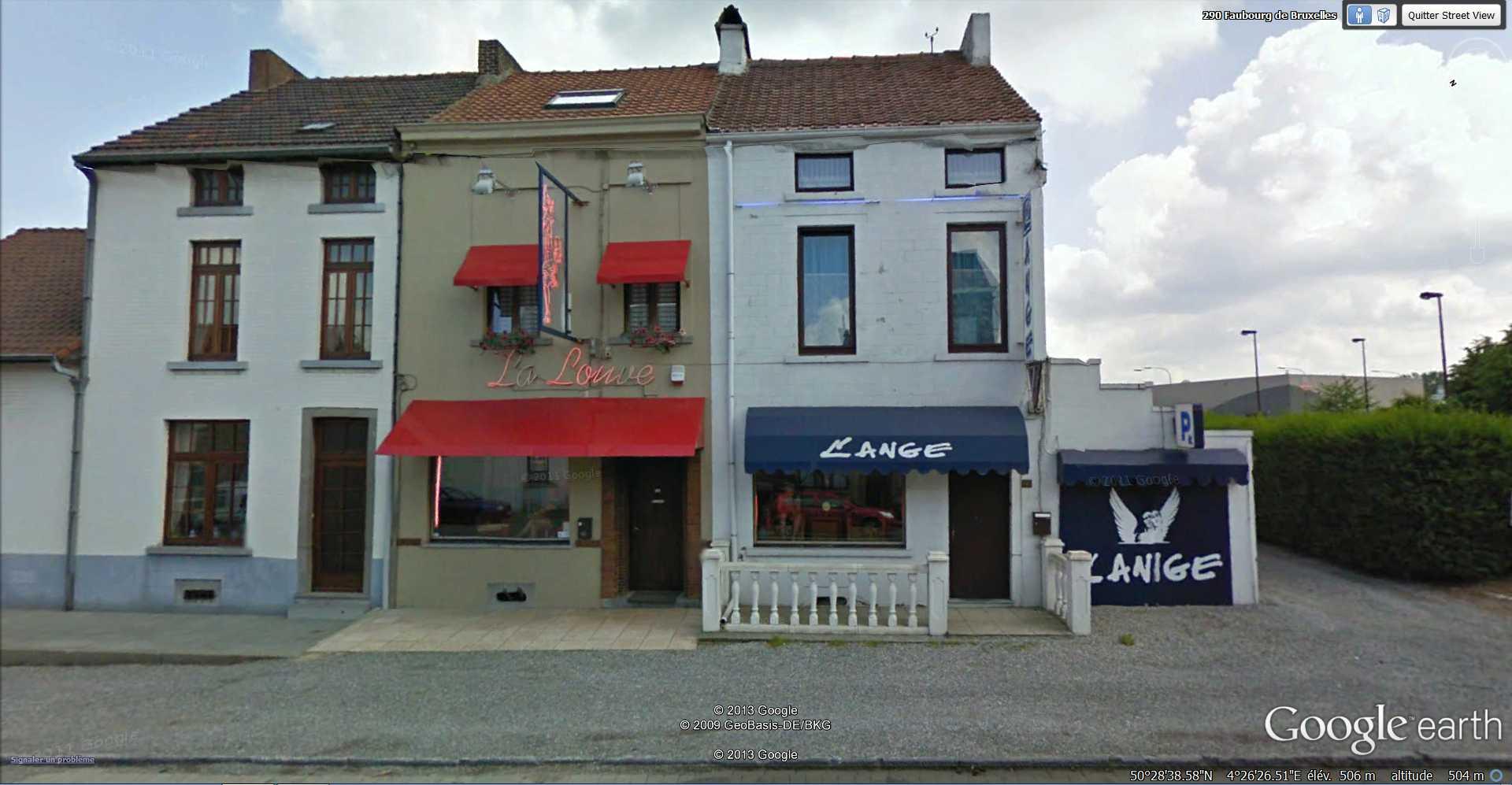 STREET VIEW : l'ange et la louve - Gosselies - Belgique 2013-125