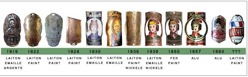 Helyett début années 60 Badges10