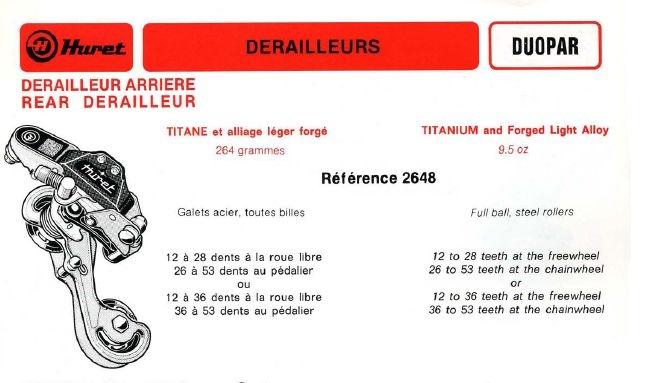 Nombre de dents max pour un dérailleur Huret_11