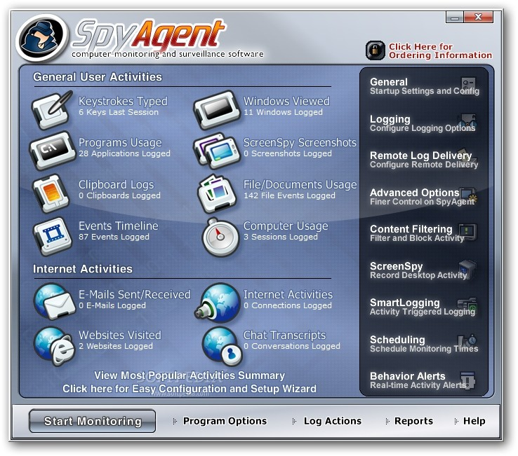 برنامج تجسس, SpyAgent 7.57, الاصدار الاخير Spytec10