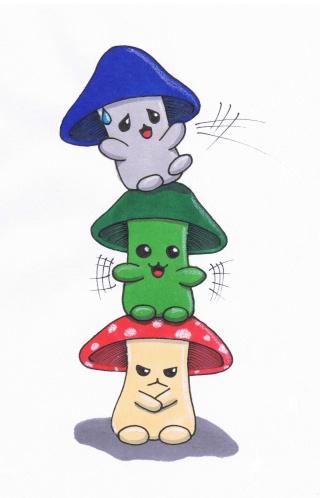 Concours dessin Tendres Chimères: Résultats page 8 !! - Page 4 Mickoz11
