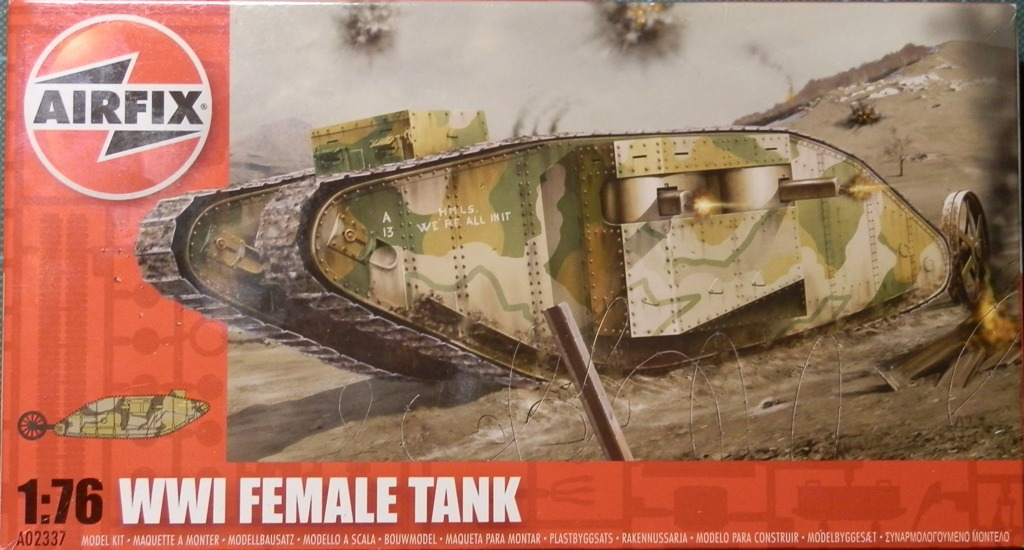 British Tank Mark.I femelle [Airfix 1/76] P5302710