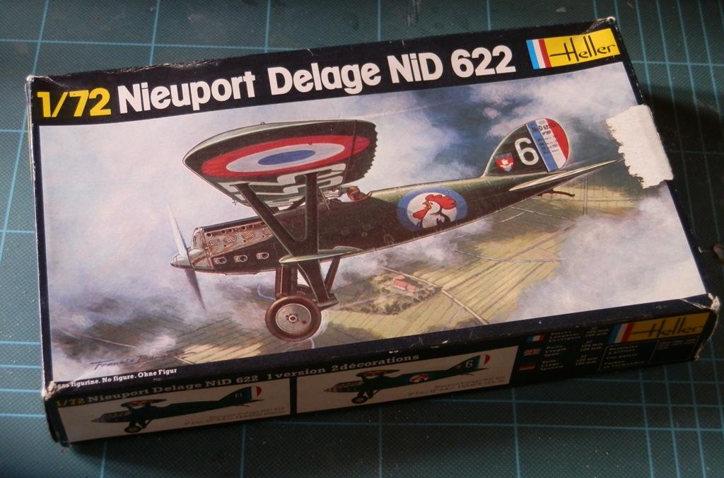 [Rusty] [Nieuport-Delage NiD 622] [Heller Boite noire ref. 224] [échelle 1/72] P6012710