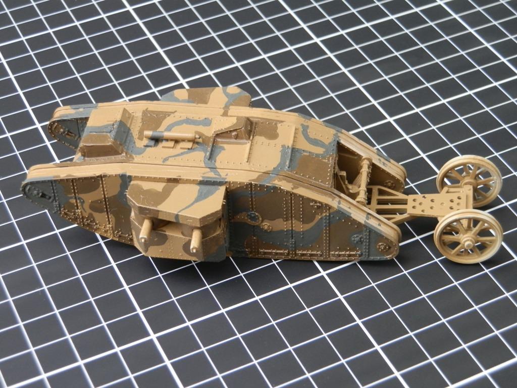 British Tank Mark.I femelle [Airfix 1/76] P6062710
