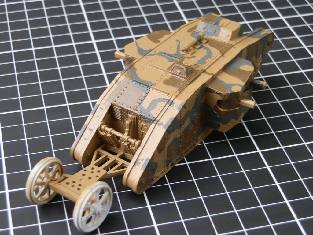 British Tank Mark.I femelle [Airfix 1/76] P6062712
