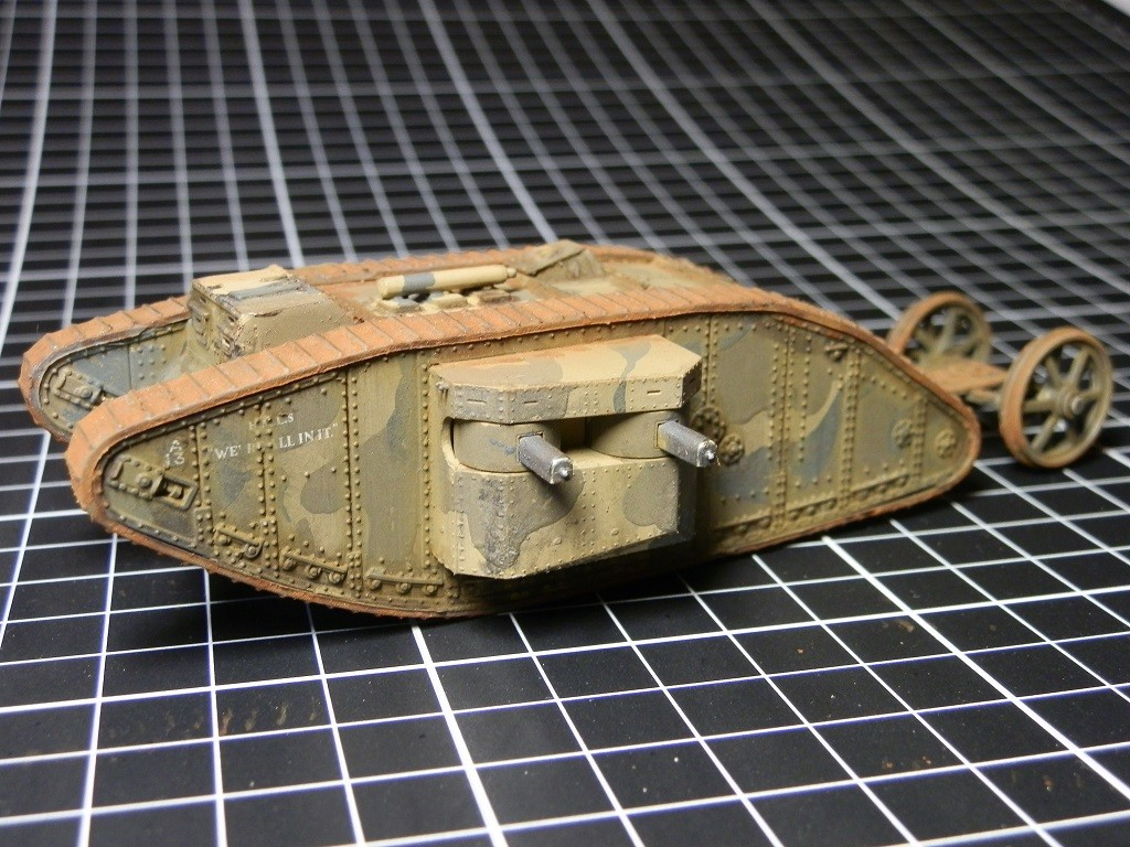 British Tank Mark.I femelle [Airfix 1/76] - Page 2 P6082710