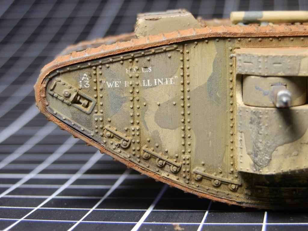British Tank Mark.I femelle [Airfix 1/76] - Page 2 P6082711