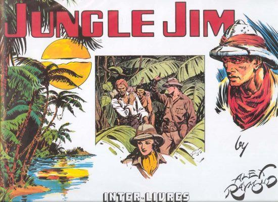 Alex RAYMOND et ses personnages Jungle10