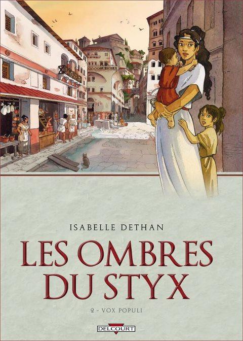 Les ombres du Styx et autres BD par Isabelle Dethan Ombres10
