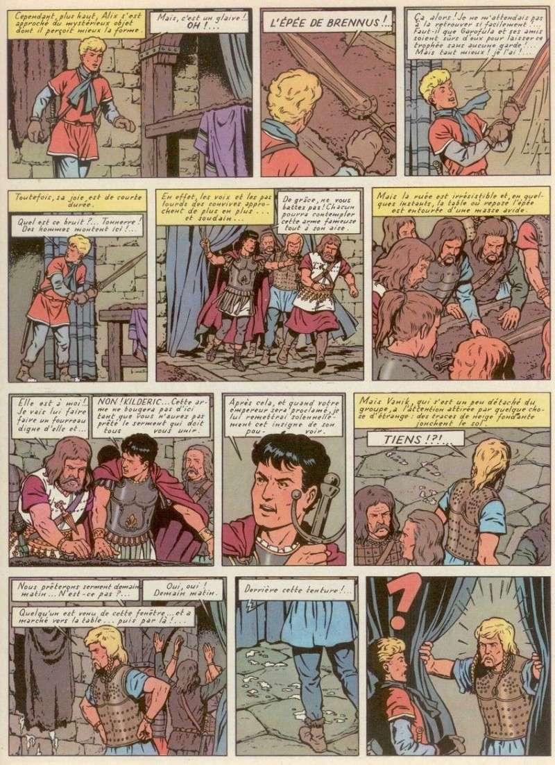 Les couleurs des albums d'Alix - Page 2 Page4310