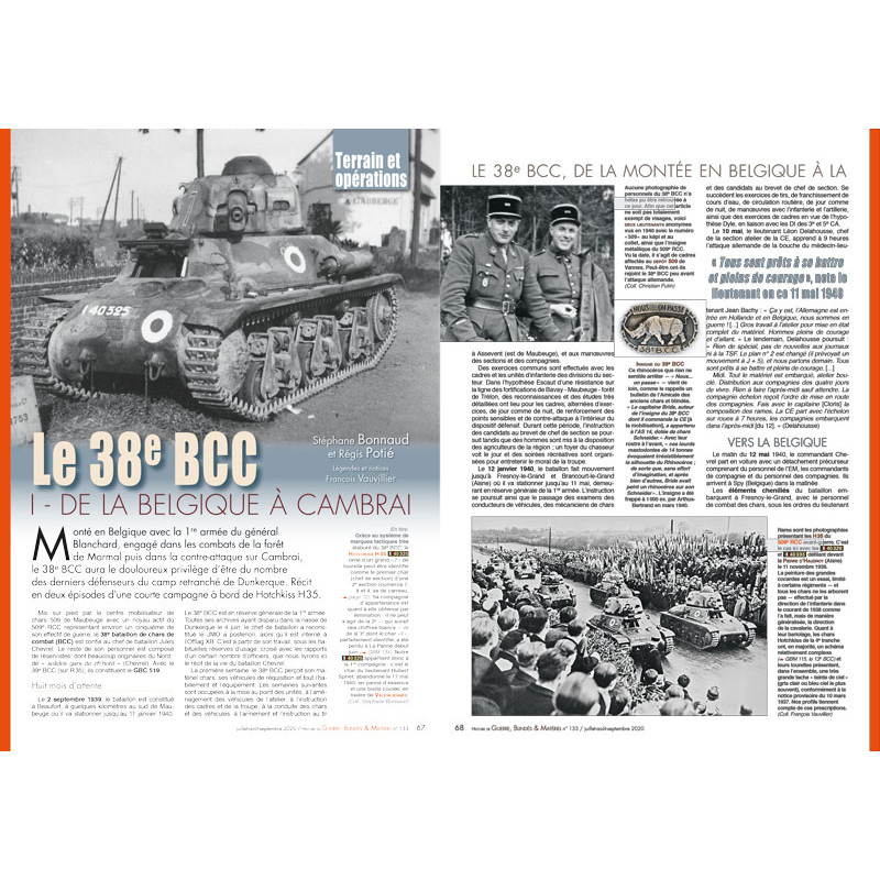 GBM 133 (Juillet, Août, Septembre 2020) Guerre26