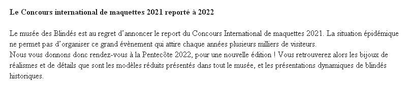 Concours de maquettes 2020 du Musée des Blindés Sans_243