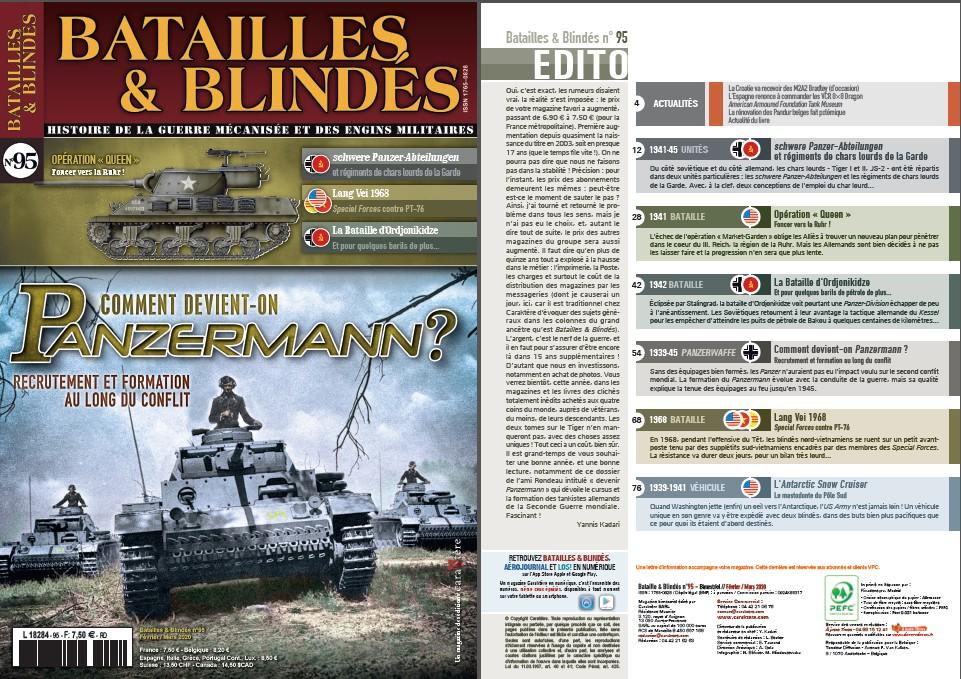 Batailles & Blindes 95 février-mars 2020 Sans_t87