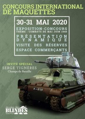 Concours de maquettes 2020 du Musée des Blindés Saum10