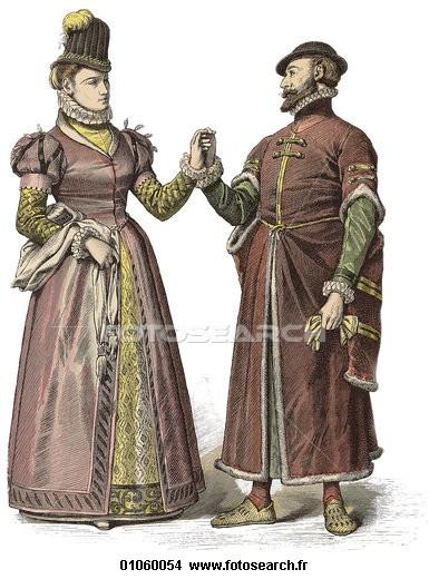 Cherche images de costumes de théâtre élisabéthain et de vêtements romains antiques 01060010
