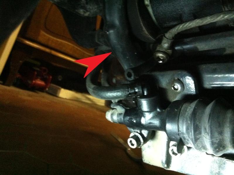 sporster 1200 de 2005 : fuite huile bas moteur Photo12