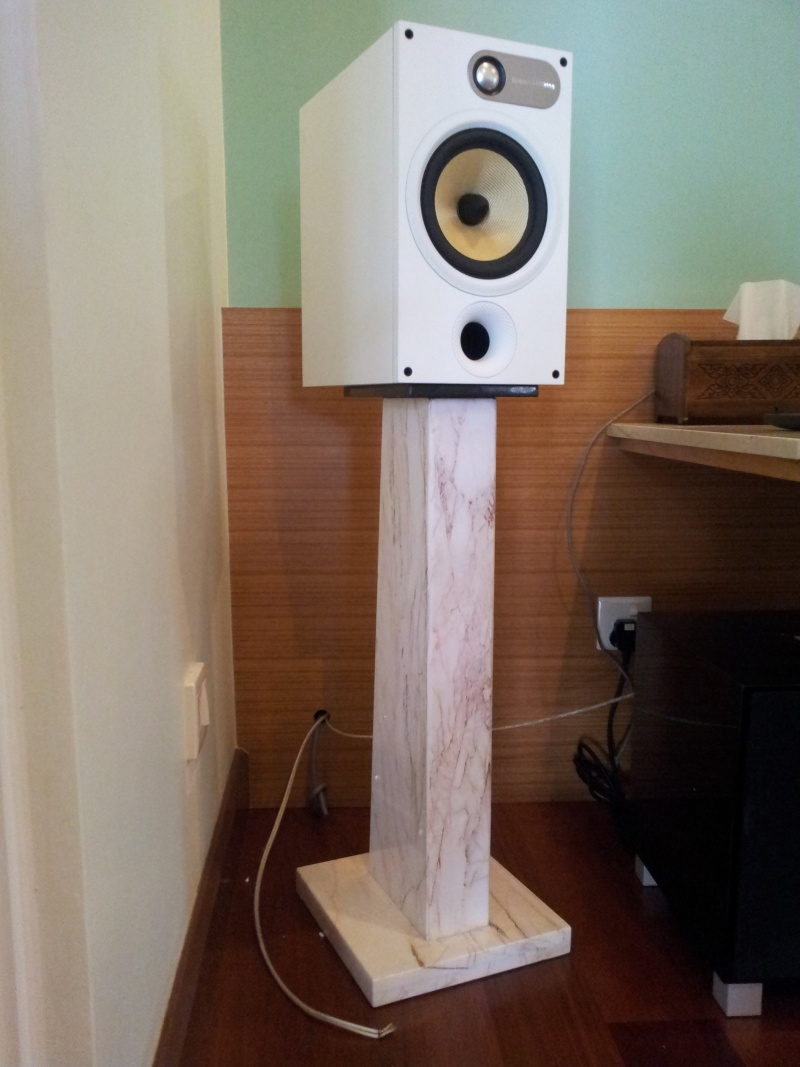 Custom Made Speaker Stands 100 Made From Marble