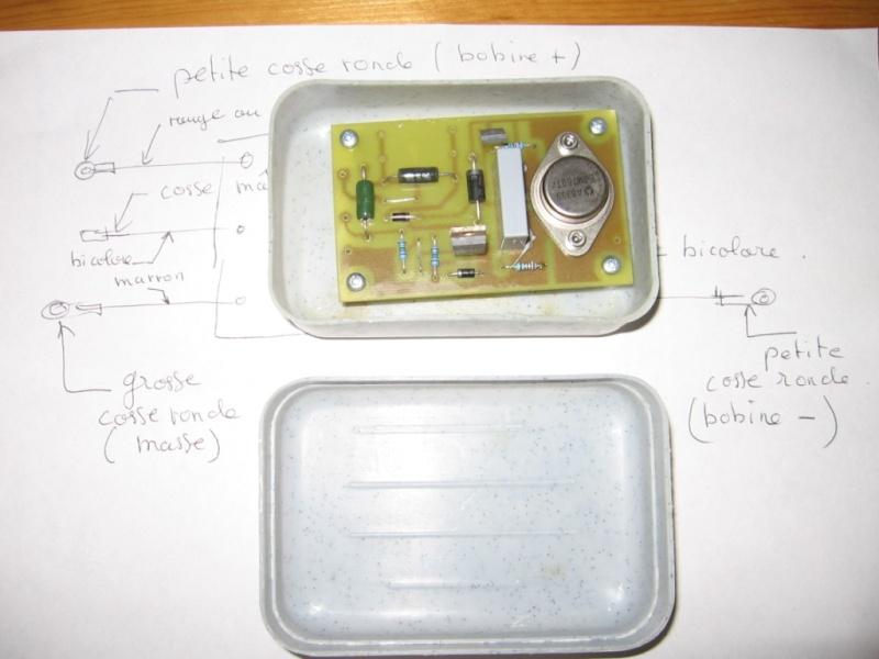 electronique - Circuit allumage électronique pour rupteur - Page 2 Boitie11