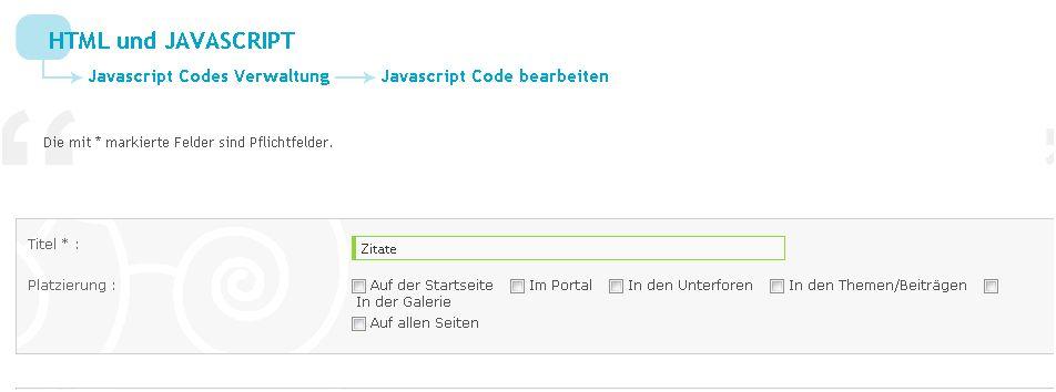 Javascripte einzeln aktivieren und deaktivieren 0128