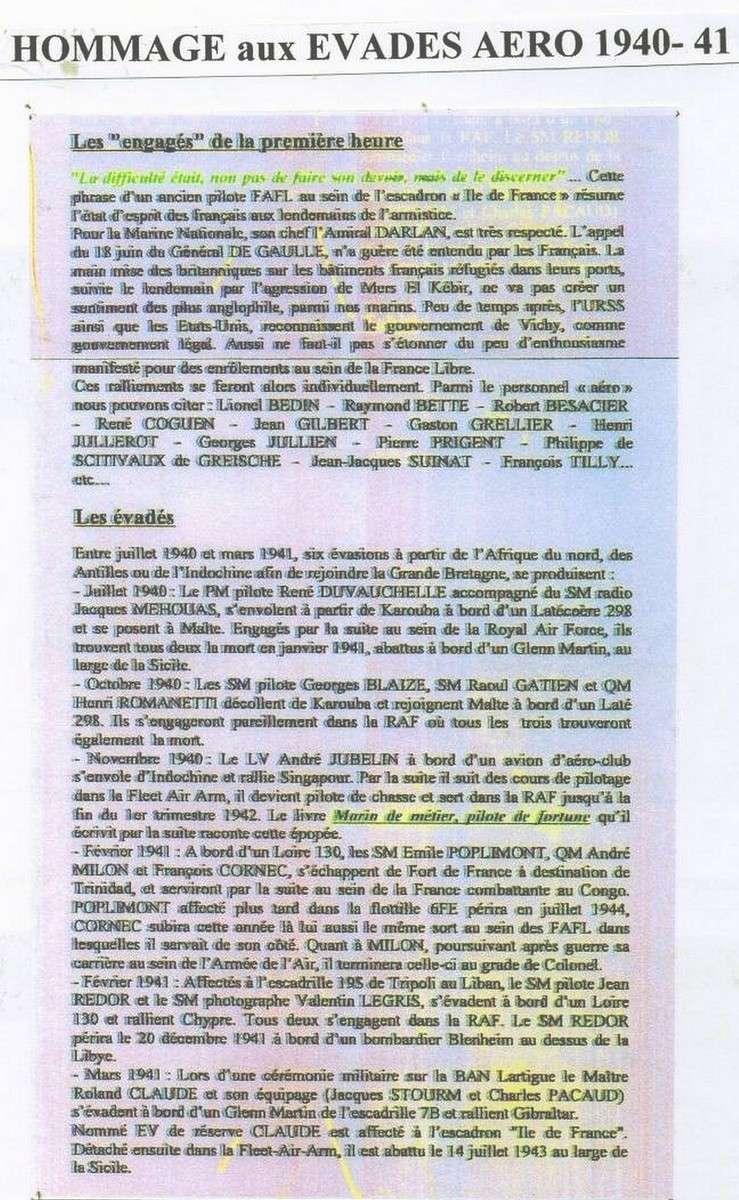 FNFL - FAFL L'appel du général de Gaulle Freres10