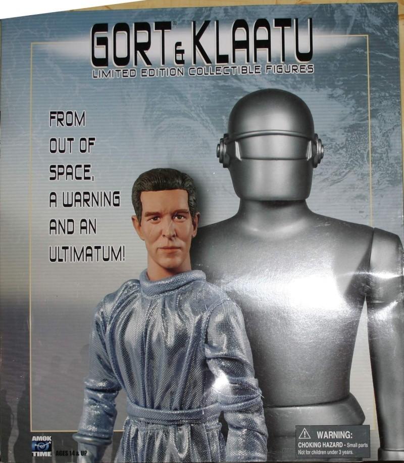 Le jour où la Terre s'arrêta : Klaatu & Gort Boite10