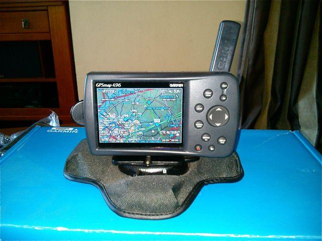 [VENDU] GPS Garmin 496 2013-022