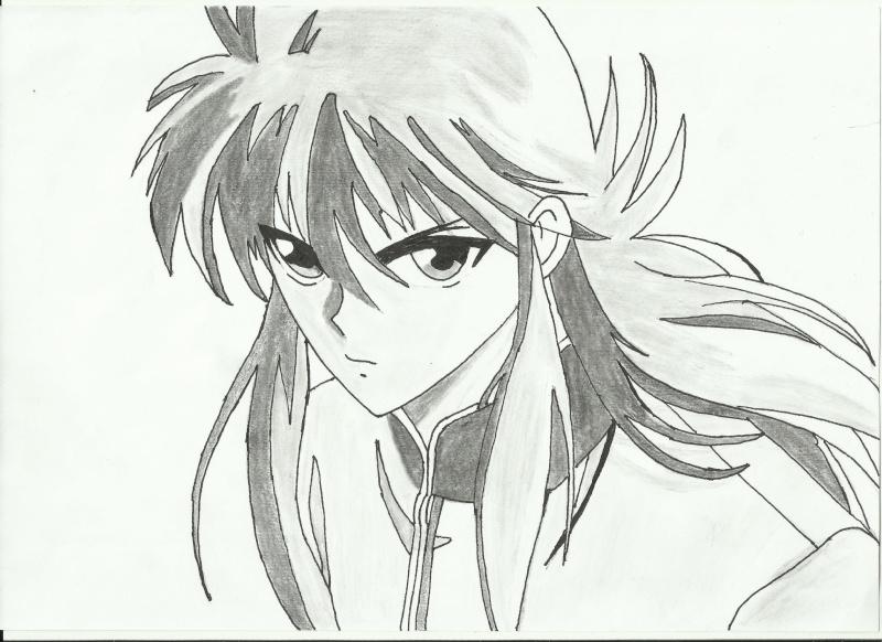 Concours de Fanart  - Page 5 Kurama10