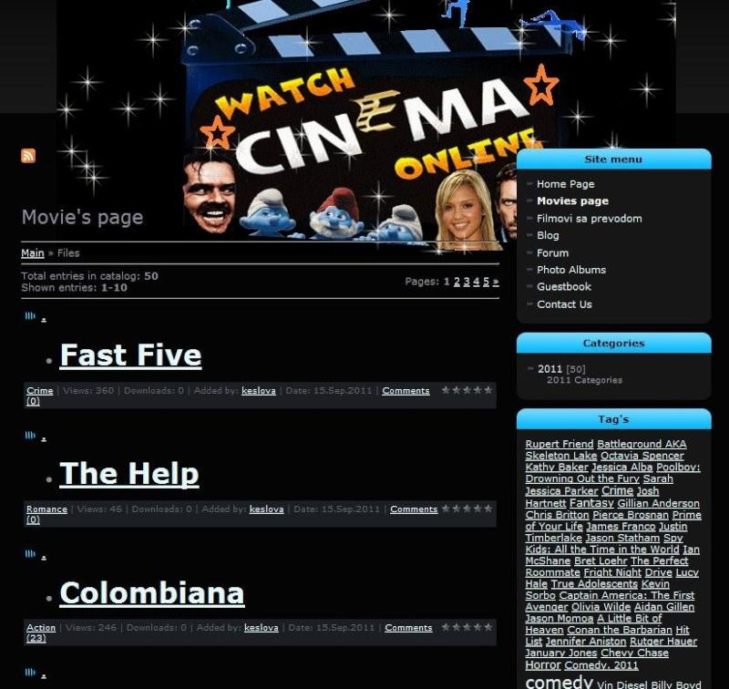 Inostrani sajtovi Screen10