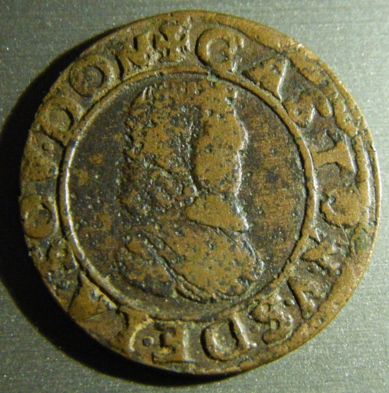 Double Tournois - Dombes - Gaston d'Orléans - 1639 - Cheveux longs ? Dscf0218