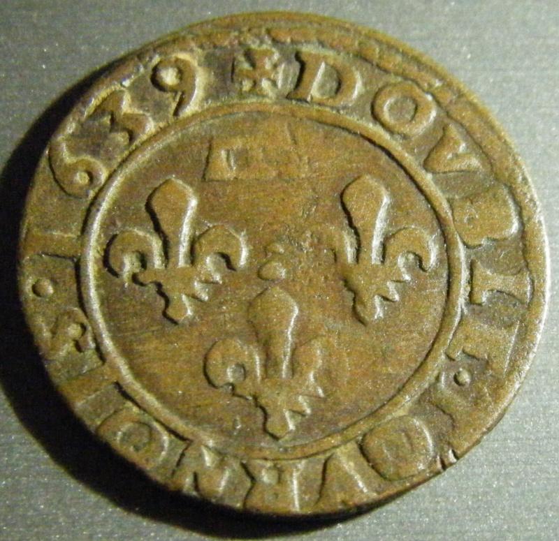 Double Tournois - Dombes - Gaston d'Orléans - 1639 - Cheveux longs ? Dscf0219