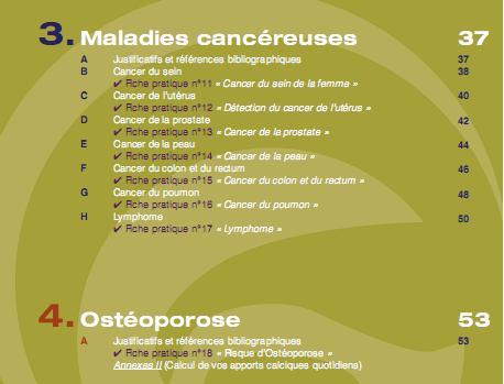 Recommandations de la SFR pour dépister ou prévenir les maladies associées  aux rhumatismes inflammatoires chroniques R210