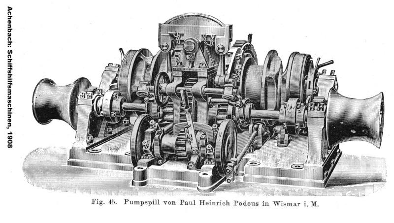 Gouvernementschiff Komet, 1911, Konstruktionsbericht  FERTIG - Seite 2 Dampfa10