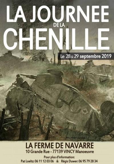 La journée de la chenille, 28 et 29/09/2019 à Vincy (77) 70756010