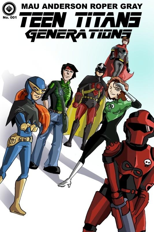 Teen Titans: Generations Teenti10