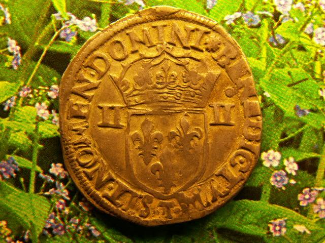 quart d'écu au marteau 1590 Bruno10
