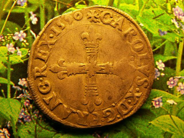 quart d'écu au marteau 1590 Bruno_10